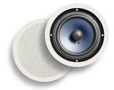 Polk Audio RC80i In-Ceiling/In-Wall Speakers - White (Pair)