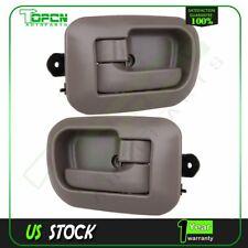 For Sienna 98-03 Front Interior Door Handle Trim Driver Side Beige