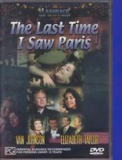 The Last Time I Saw Paris (p, DVD, 2002, Region 4) Elizabeth Taylor, Van Johnson