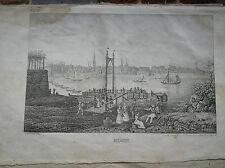 Original-Lithographien (1800-1899) aus Deutschland mit Landschaftsmotiven