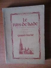 LE PAYS DE BADE index historique et architectural des principales ville
