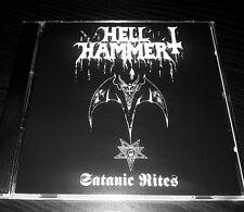 "HELLHAMMER ""Satanic Rites"" CELTIC FROST BATHORY VENOM Black Metal"