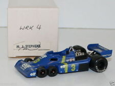 WESTERN MODELS SIGNED 1st VERSION - 1/43 SCALE - WRK4 - 1976 ELF TYRRELL 6 WHEEL