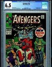 Avengers #54 CGC 7.5 1968 Marvel Comic 1st Masters of Evil Amricons B12