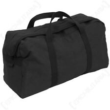 Large Black US Army Tool Bag -  Gym Holdall Pack Military Travel Soldier USA New