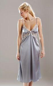 Sulis Silk Amalie stretch silk nightdress nightgown made in England