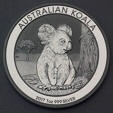 """Silbermünze """"Koala - 2017"""" 1oz Ag"""
