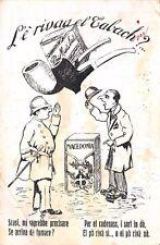 """C5447) """"L'E' RIVAA EL TABACH?"""" SIGARETTE MACEDONIA. VG. IL 18/7/1919."""