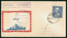 Mayfairstamps chile 1952 Fragata Iquiue Ship Cachet Marina Cover wwp81929
