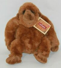"Dakin Applause Plush Lou Rankin Friends  Zachary 14"" Ape Artist Gorilla NWT"