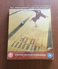 The Big Lebowski 20th Anniversary Steelbook [4K UHD/Blu-ray/Digital] NEW SEALED