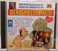 Der große Preis + CD + Die kultigen Schlager von 1992/1993 mit Wum und Wendelin