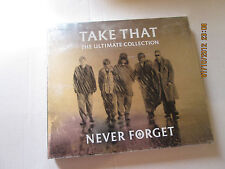 TAKE THAT THE ULTIMATE COLLECTION NEVER FORGET CD
