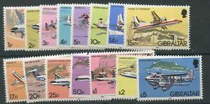 Gibraltar SG460-474 1982 Aircraft Definitives U/M