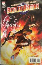 Battler Britton #1 VF+/NM- 1st Print Free UK P&P Wildstorm Comics Garth Ennis