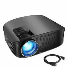 """Kaysn Full HD Video Projector & Home Theater Projector with 200"""" Projection"""