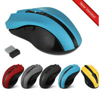 2400 DPI Cordless 2.4GHz Wireless USB Optical Laser Mouse Mice for Laptop PC