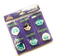 Disney Parks Haunted Mansion 6 Pin Tsum Tsum Booster Set Sealed NEW