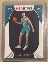 2020-21 Panini NBA Hoops Lamelo Ball Rookie #223 Charlotte Hornets RC Mint NICE