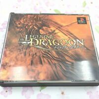 USED PS1 PS PlayStation 1 Legend of Dragoon 01196 JAPAN IMPORT