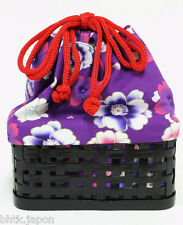 巾着バッグ - KINCHAKU BAG - Sac panier japonais fleuri - Import direct Japon