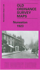 OLD ORDNANCE SURVEY MAP NUNEATON 1923