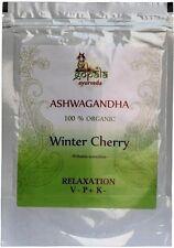 Organic Ashwagandha Powder 100g (USDA Certified) Withania Somnifera Root Powder