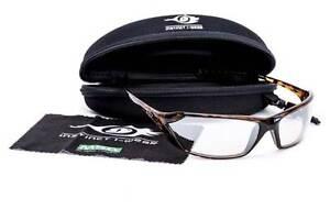 MSA PREMIUM Protective Safety Glasses Light Silver Mirror Lens AUS/NZ Standards
