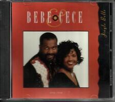 BEBE & CECE WINANS Jingle bells w/ RARE EDIT PROMO Radio DJ CD Single Christmas