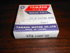 NOS Yamaha Piston Ring Set 1.00 1976-1980 YZ80 5T8-11607-00