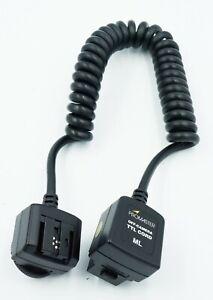 Promaster Off-Camera TTL Flash Extension Cord for Minolta 'i' Mount 3' NOS