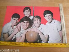"""16 Magazine send away poster 1960's The Dave Clark Five DC5 11x17"""""""