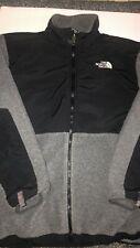 North Face Tnf Boys Xl Gray/Black Full Zip Denali Polartec Fleece Jacket