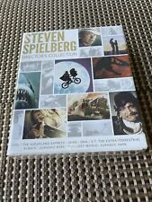 Steven Spielberg: Director's Collection (Blu-ray, 2014, 8-Disc set + Book) NEW!