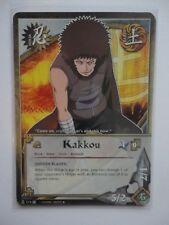 Naruto Karte 3X KAKKOU (Hidden blades) - 713 UNCOMMON 1.EDITION