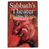 Sabbath's Theater by Phillip Roth, Hardcover Book, American Literature