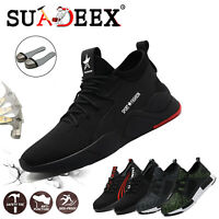 Chaussures de sécurité homme S3 de travail Bottes Légèr Respirant Embout d'acier