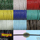2 Metros Cuero Legitimo Trenzado 3mm Color a Elegir Genuine Leather Braided Real