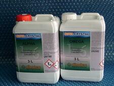 dinotec NOVA CRYSTAL chlorfreie Wasserpflege Alpha+Omega, je 3,0 l (1l = 28,17€)