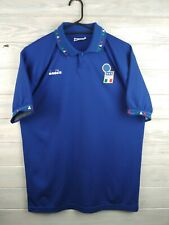 Italy Italia jersey medium 1991 home shirt soccer football Diadora