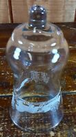 Votive Cup Homco Home Interior Crystal Clear Glass Candle Holder Winter Scene