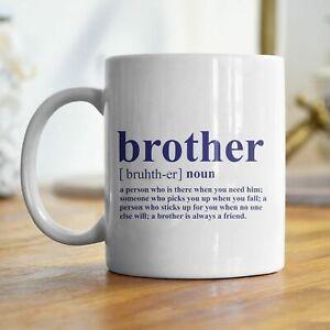 BROTHER NOUN PRINTED MUG FAMILY FREE P&P CHRISTMAS