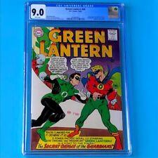Green Lantern #40 (DC 1965) 💥 CGC 9.0 WHITE PG 💥 Crisis Begins & 1st App Krona