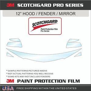 3M SCOTCHGARD PRO PAINT PROTECTION FILM CLEAR BRA FOR 16-21 HONDA HRV