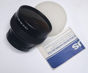 OLYMPUS 0.6X Wide Conversion Lens VF-KL3 Video Camera Attachment Case Manual