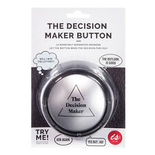 Is Gift The Decision Maker Button - Grown up Magic 8 Ball