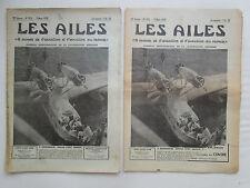 AILES 1939 925 LeO H-242 MARIGNANE PLANEUR REIHER DH-95 SOUFFLERIE HISPANO-SUIZA