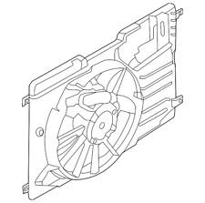 Genuine Ford Fan & Motor CV6Z-8C607-S