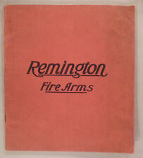 Remington Firearms CATALOG - 1909 ~~ fire arms. rifle, shotgun, gun