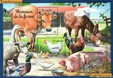 France Bloc N°69 Série Nature de France Animaux de la Ferme 2004 Neuf Luxe